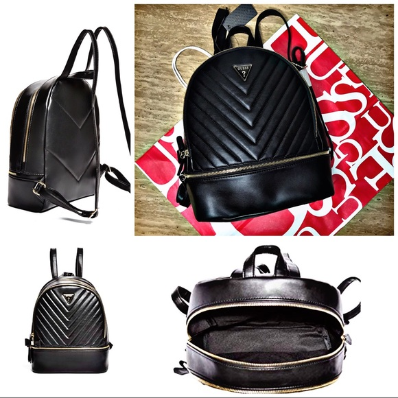 Guess Natalia Black Mini Backpack 0ad54297c4197